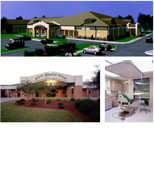 Renovation of Medical and Dental Clinic, Moody AFB